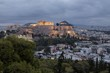 Acropolis of Athens At Dawn