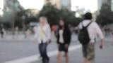 city bokeh blur background people - 213049865
