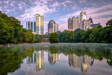 Atlanta, Georgia, USA Midtown Skyline