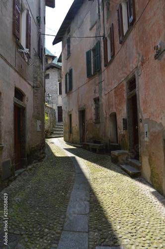 Fotobehang Smalle straatjes viaggi