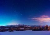 Amazing night landscape