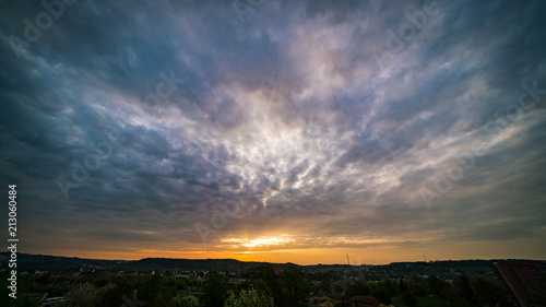 Plexiglas Zonsopgang Sunset sky