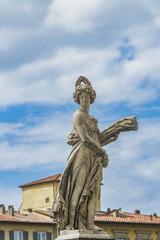 Statua della Estate at Ponte Santa Trinita in Florence