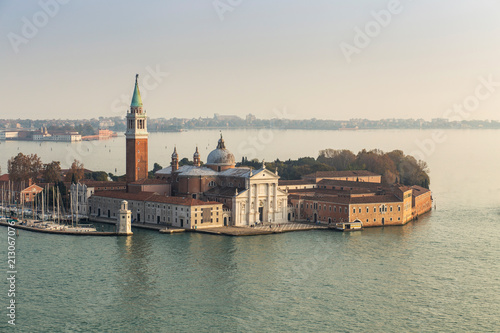 Skyline of Venice from Campanile in San Marco square. Italy. - 213067076
