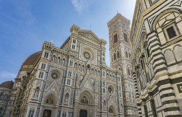 View at Florence Cathedral in Italy