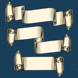 Vintage decorative ribbons - 213067876