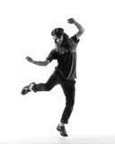 Young beautiful dancer posing in the studio - 213069835