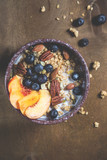 Muesli with fresh fruits and berries - 213069880
