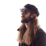Young male with sunglasses and beard - 213070434