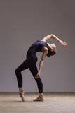 Young beautiful ballerina is posing in studio - 213073810