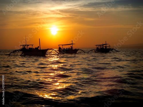 sunset fisherman - 213079000