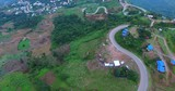 aerial view of mountain road in phu tubberk most popular traveling destination in petchabun thailand - 213079427
