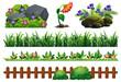 A Set of Garden Element