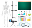 A Set of Science Classroom Element