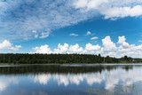 River Daugava, Latvia. - 213089419