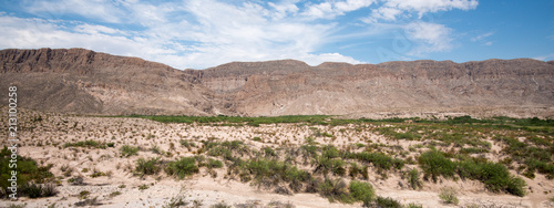 View from Boquillas Canyon Overlook, Big Bend National Park, Texas - 213100258