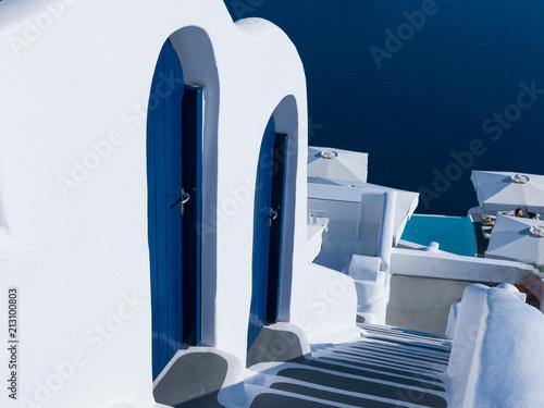 Sticker Doors of Santorini
