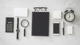 Office supplies on white background - 213110067
