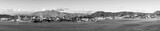 Noumea New Caledonia Panorama Black and White - 213113073