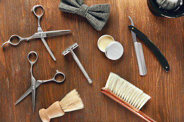 Men's Grooming Tools. Barber Shop Equipment And Supplies