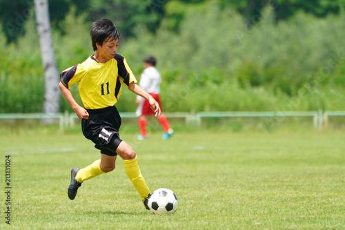 Fotobehang Voetbal サッカー フットボール