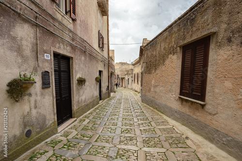 Fototapeta Medieval Town of Erice on Sicily