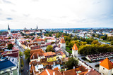 View over the Tallinn from the height