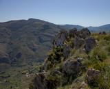 sizilianische Hügellandschaft im Frühling