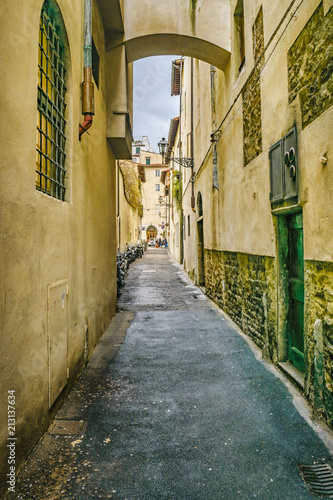 Fototapeta Street of Historic Center of Florence