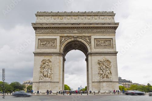 Fridge magnet Arch of Triumph