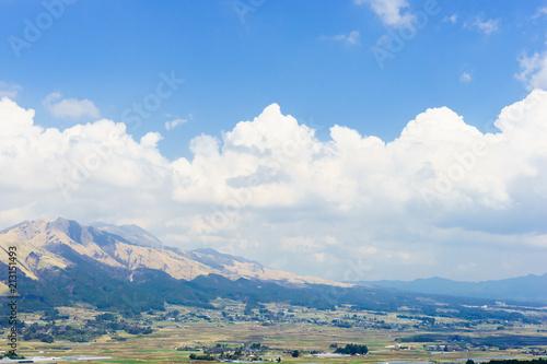 南阿蘇の風景