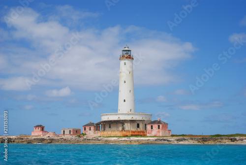 Fotobehang Vuurtoren Bird Rock lighthouse 2