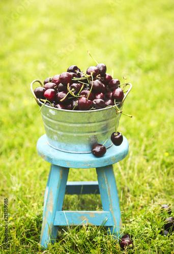 Fotobehang Kersen Sweet cherry