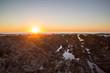 Golden Sunset Rocks