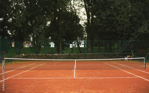 Aluminium Tennis Tennis Yard Net And Terrain