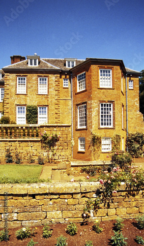 Foto Murales stately home old building england uk