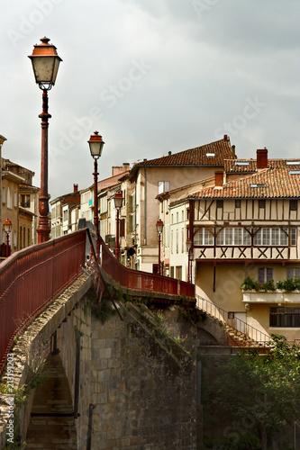 Wall mural French bridge