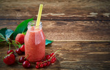 Healthy fruit smoothie with assorted berries - 213200066
