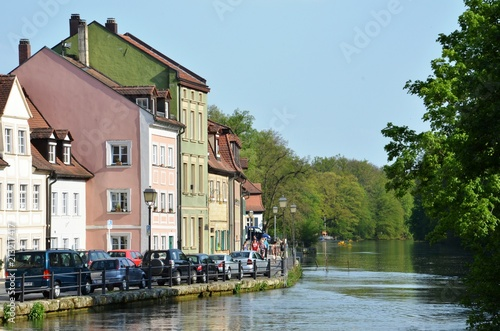 Wall mural Bamberg river