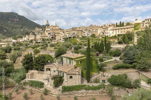 Blick auf Vademossa aif Mallorca
