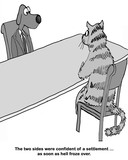 Cat and dog negotiation - 213242234