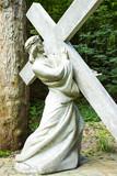 Jesus Christ under the cross - 213248063