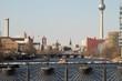 Berlin Panorama von der Oberbaumbrücke
