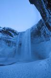 Skogafoss Wasserfall in Island in den Morgenstunden