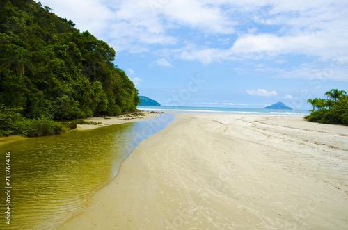 Fotobehang Tropical strand BarraDoSahy-Brazil