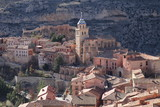 scenery of the medieval town of Albarracin in the province of Teruel in Aragon, Spain - 213273411