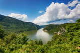 The Iron Gate, a gorge on the Danube River