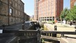 Canal locks in Leeds city centre revealed in slow motion