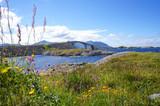 The Atlantic Ocean Road or the Atlantic Road (Norwegian: Atlanterhavsveien) in Møre og Romsdal, Norway. - 213320064