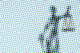 Abstract halftone artistic background